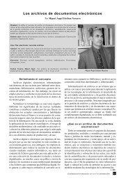 Los archivos de documentos electrónicos - E-LIS