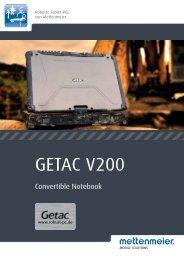 Datenblatt GETAC V200 - Mettenmeier GmbH