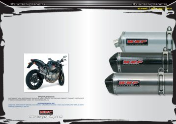 Exhaust systems Exhaust systems www.wrpracing ... - MotoXSPEED