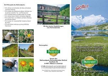 WOHNEN IM HERZEN DES NATIONALPARKS - Kitz.Net