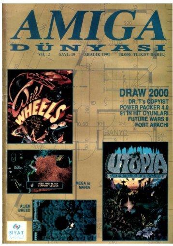 Amiga Dunyasi - Sayi 19 (Aralik 1991).pdf - Retro Dergi