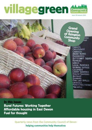 Autumn 2012.pdf - Community Council of Devon