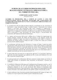 CC 011-2011 Allegato Accordo di programma centrale idroelettrica ...