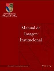 Manual de Imagen Institucional - Universidad Panamericana