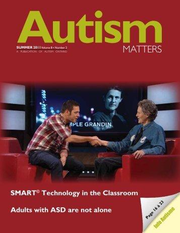 Summer 2011 - Autism Ontario