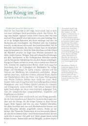 Der König im Text. Autorität in Recht und Literatur (PDF)
