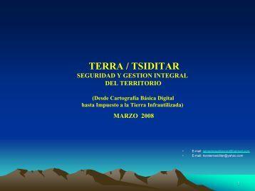 TERRA Seguridad y Gestión Integral del Territorio, Ing. Jaime Riera