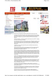 Page 1 of 2 TTG ASIA - 65 new hotels by 2010 5/5 ... - C9 Hotelworks