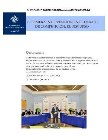 Doc 6 formación site- Discurso - La UFV