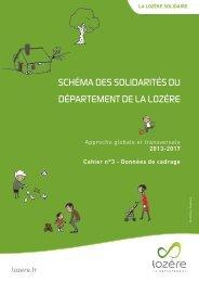 Schéma des Solidarités - Conseil général de la Lozère