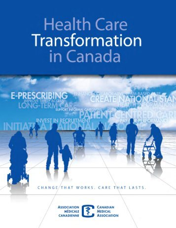 Health Care Transformation in Canada - Canadian Medical ...