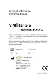 virellaEntero real time RT-PCR Kit LC - gerbion