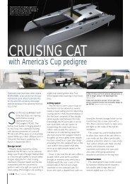 Cruising Cat with AC pedigree - MULTIHULL WORLD