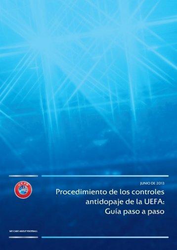Guía paso a paso para jugadores - UEFA.com