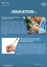 EDUCATION - WYG
