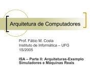 em PDF - Instituto de Informática - UFG