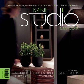 luksuzne kade od drveta - Mini Studio Magazin