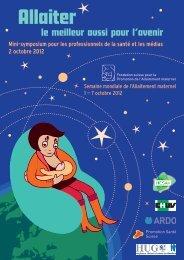 Semaine mondiale de l'allaitement maternel du 1er au 7 octobre 2012