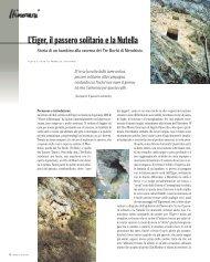 L'Eiger, il passero solitario e la Nutella - Ardia.ch