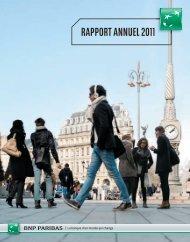 BNP rapport annuel 2011 - Rapport annuel 2012 de BNP Paribas