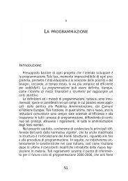 LA PROGRAMMAZIONE - Precedente versione del sito