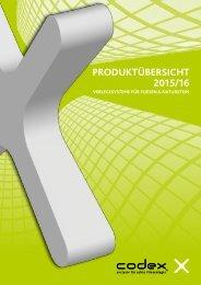 PRODUKTÜBERSICHT 2015/16