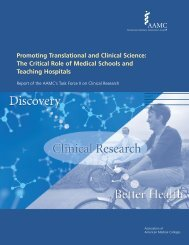 Promoting Translational and Clinical Science - Member Profile - AAMC