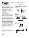 KETTLE ROTISSERIE INSTRUCTIONS - Weber - Page 3