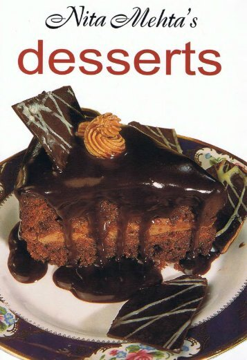 Nita Mehta Desserts - NNK FAMILY