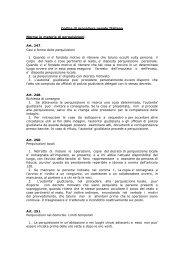 Codice di procedura penale Italiano Norme in materia di ... - EJTN
