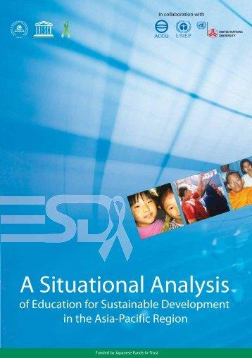 A Situational Analysis - UNESCO Bangkok