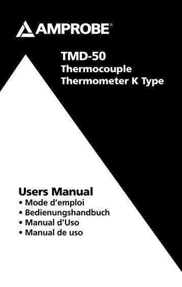 TMD-50 - Amprobe
