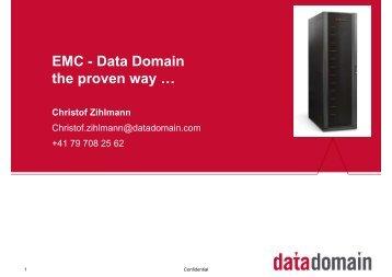 Präsentation Data Domain - Magirus
