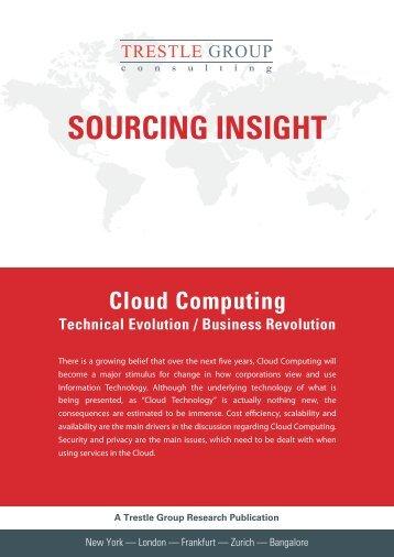 Cloud Computing - Technical Evolution / Business ... - Trestle Group