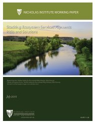 Stacking Ecosystem Services Payments Risks and Solutions