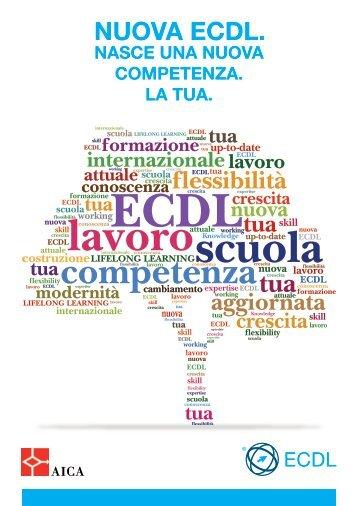 Brochure Nuova ECDL - Aica