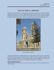 IGLESIA SAN PEDRO DE LAMBAYEQUE - jorge andujar