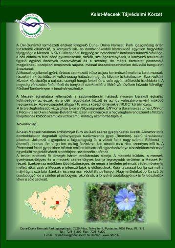 Kelet-Mecsek Tájvédelmi Körzet - Duna-Dráva Nemzeti Park