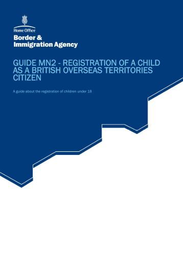 Guide MN2 - UK Border Agency
