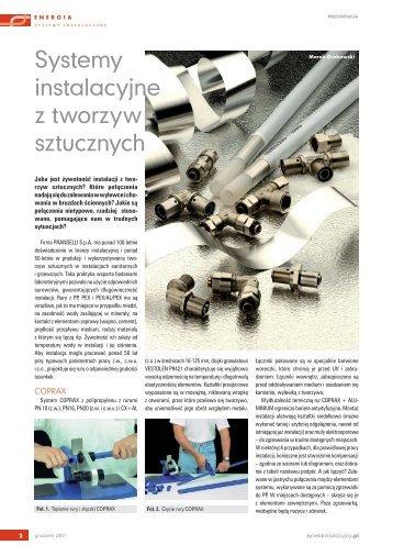 Systemy instalacyjne z tworzyw sztucznych - Prandelli