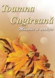 Revista Toamna Cugireana 2012 - Primăria Cugir