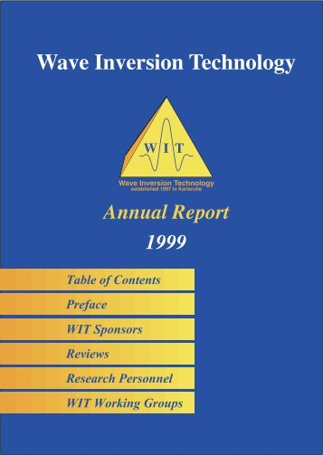 Wave Inversion Technology - WIT
