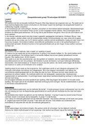 nt Groepsinformatie groep 7/8 schooljaar 2012/2013 ... - Webklik