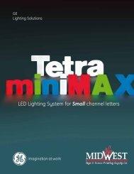 Tetra miniMAX Brochure - GE Lighting Solutions