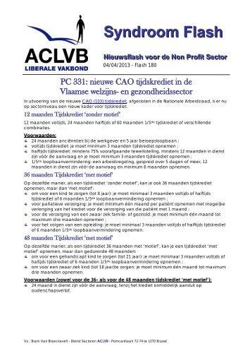 Paritair Comité - Aclvb