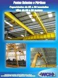 Capacidades de 05 a 20 toneladas Vãos de 08 a 30 metros ... - Abcic - Page 5