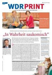 Mai 2013 (PDF-Download: 2,9 MB) - WDR.de