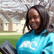 Residence Life Handbook 2011-2012 - Rochester College