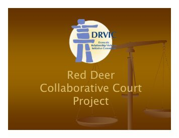 Red Deer Collaborative Court Project - Alberta Council of Women's ...
