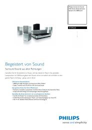 HTS9520/12 Philips HD Home Entertainment-System mit 360Sound